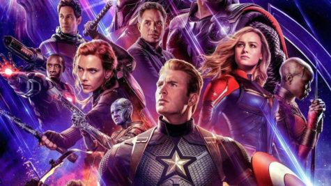 Avengers Endgame promotional movie poster.
