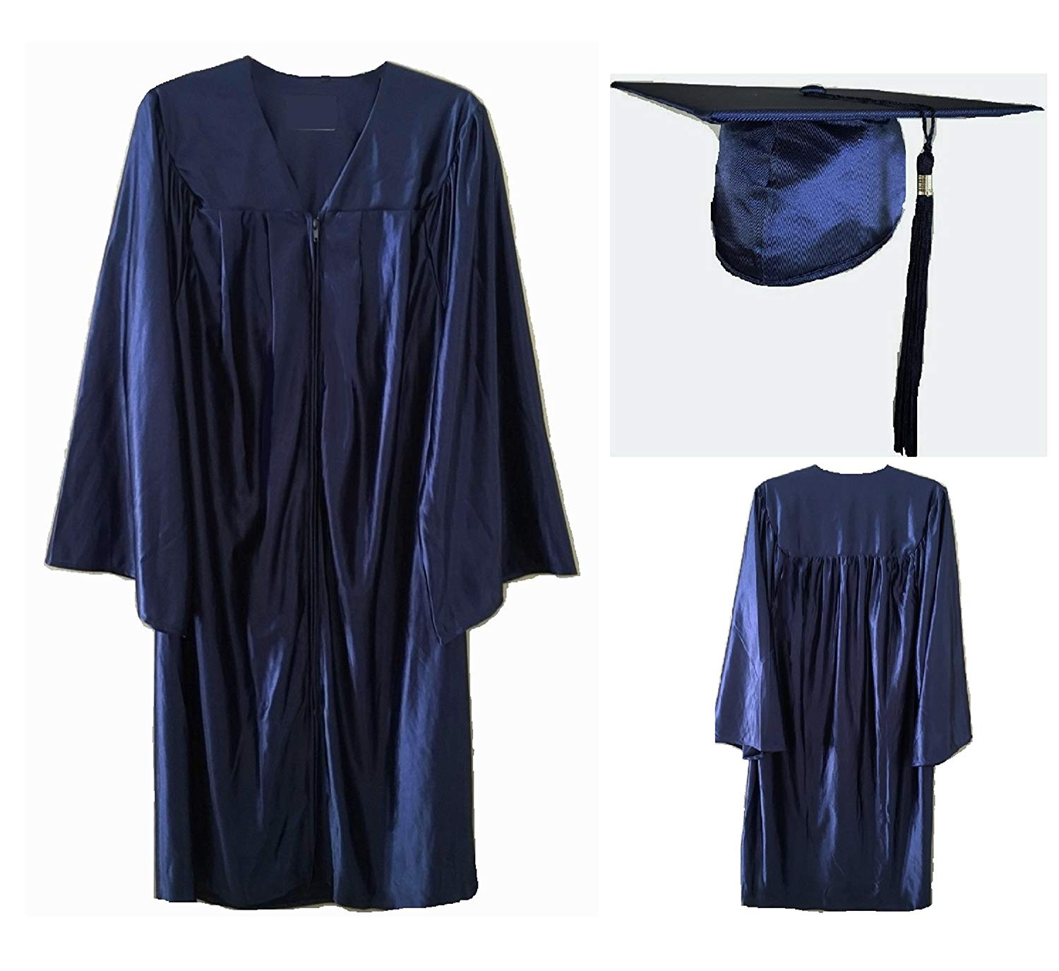Cam High implemented navy-blue graduation gowns for both the male and female graduating class, where previously male and female gowns would have separate colors.