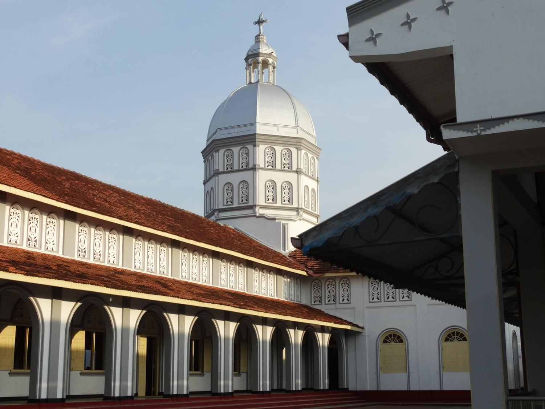 Sri Lanka's St. Sebastian's Church, one of the targets of the Easter Sunday bombings in Sri Lanka (4/21/2019).