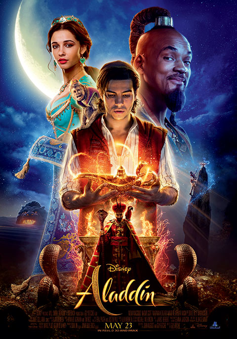 Movie+poster+for+the+recent+Aladdin+remake.+