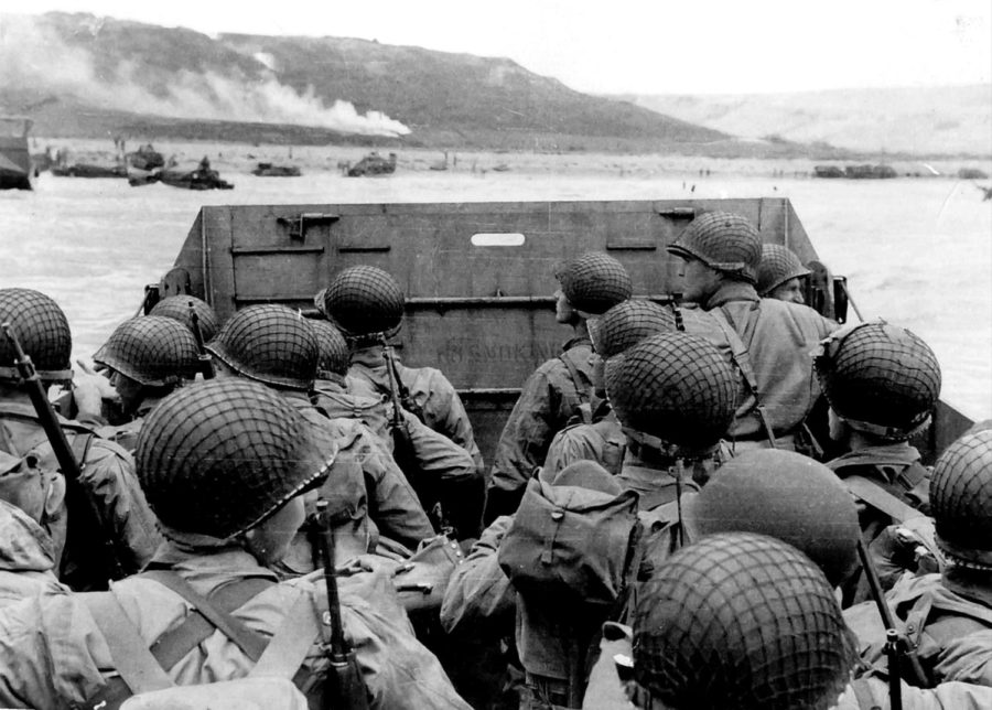 On+June+6%2C+1944%2C+Allied+forces+invaded+northern+France+with+the+intent+to+liberate+it+from+Germanys+hold.+