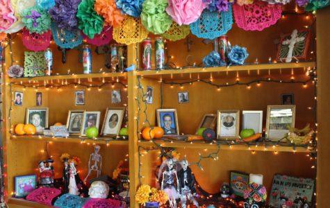Celebrating Dia De Los Muertos at Cam High