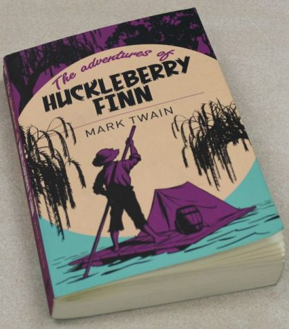 "The novel Huckleberry Finn has been the subject of much controversy due to its legacy in schools and the use of the ""n-word"" in reading the book."