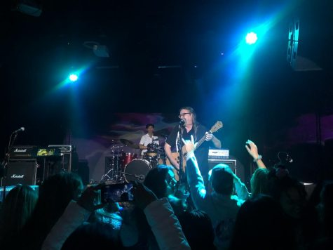 Mr. Donald Crowell played guitar and sang at Camchella on Friday, Dec. 13.