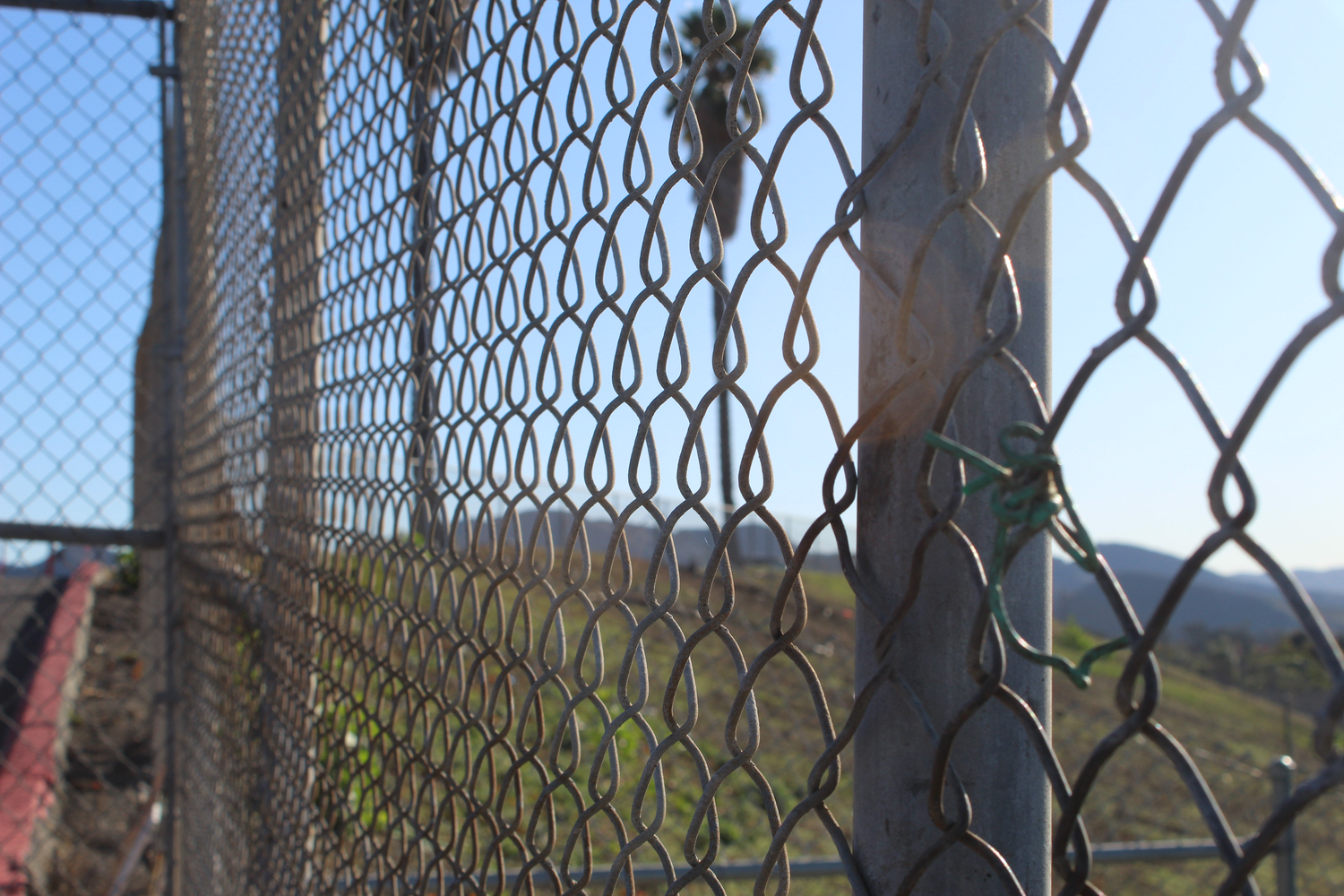 Fences will be soon be installed at Cam High with the Measure A bond money.