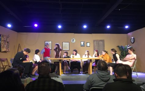 Cam High's drama class put on a performance of The 12 Angry Jurors in the blackbox theater on December 5, 2019.