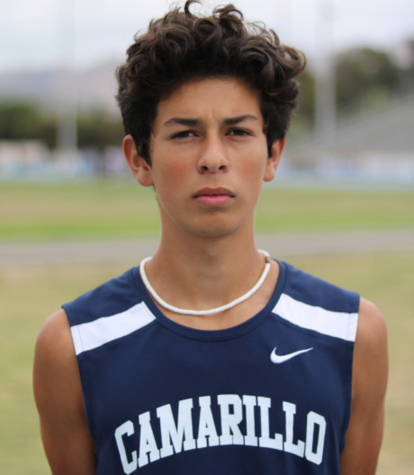Jaime Gonzalez, a senior, qualified for CIF prelims as an individual and finished in sixth place in the boy's league finals.