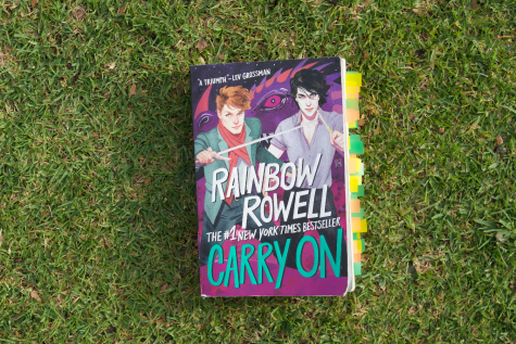 """Carry On"" by Rainbow Rowell."