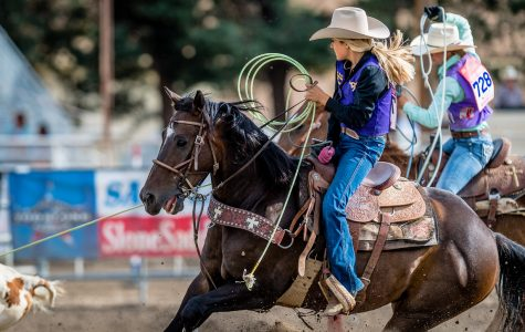Jamie Fontes is a sophomore at Cam High who participates in rodeo competitions.