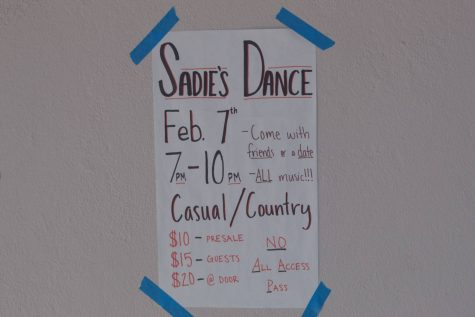 Sadie Hawkins Dance Cancelled Due to Low Tickets Sales