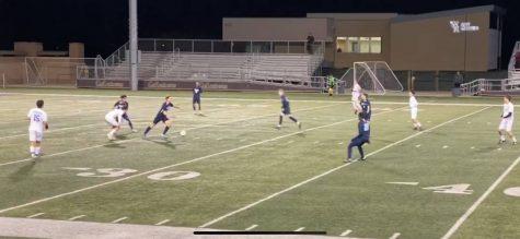 Boys Varsity Soccer Wins 2-0 on Senior Night