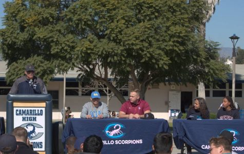 Cam High's Athlete Signing Day took place on Feb. 7, 2020.