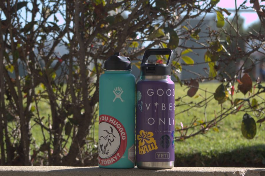 Hydroflasks, which are extremely popular among students at Cam High, provide a more eco-friendly alternative to plastic water bottles and are almost essential to student life.