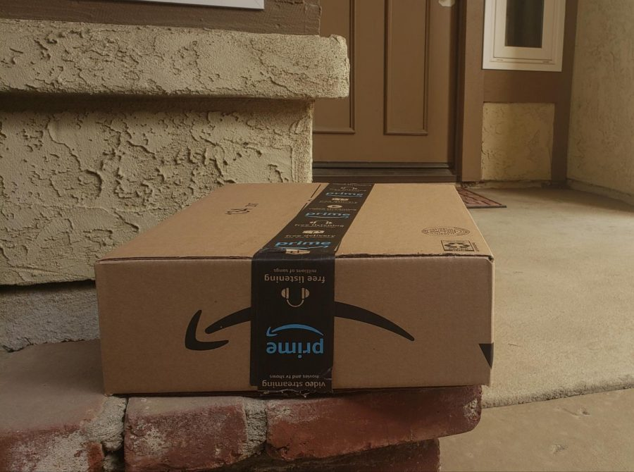 Amazon+Package+sitting+on+the+porch.