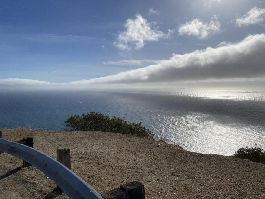 Driving up to Deer Creek Road off of PCH and Malibu beach.