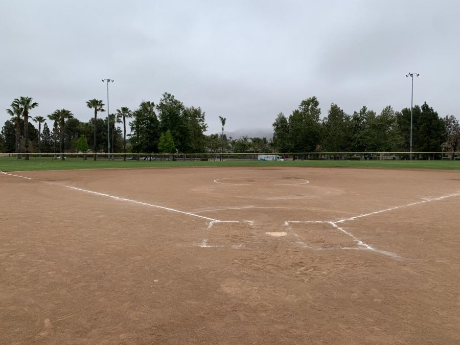 Softball Fields at Mission Oaks Park where the Cam High softball team play some games