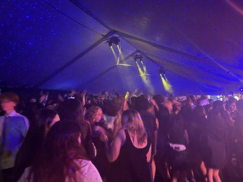 Cam High students dancing at Homecoming 2021